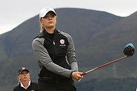 Hannah Screen (ENG) on the 2nd tee during Round 2 of the Women's Amateur Championship at Royal County Down Golf Club in Newcastle Co. Down on Wednesday 12th June 2019.<br /> Picture:  Thos Caffrey / www.golffile.ie