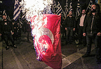 2018 03 06 Protest by Golden Dawn supporters, Athens, Greece