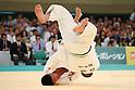 (L to R) Hirotaka Kato (JPN), Masaru Momose (JPN), April 29, 2012 - Judo: 2012 All Japan Judo Championships, Semi-Final at Nihon Budokan, Tokyo, Japan. (Photo by Daiju Kitamura/AFLO SPORT) [1045]
