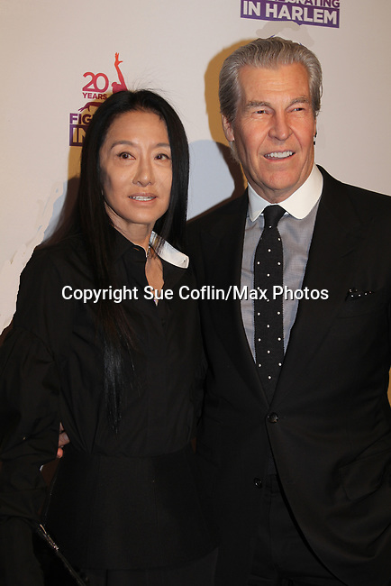 Vera Wang and Terry Lundgren - Figure Skating in Harlem celebrates 20 years - Champions in Life benefit Gala on May 2, 2017 in New York Ciry, New York.   (Photo by Sue Coflin/Max Photos)