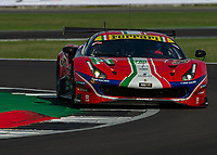 James Calado (GBR), Alessandro Pier Guidi (ITA) AF CORSE during the WEC 4HRS of SILVERSTONE at Silverstone Circuit, Towcester, England on 30 August 2019. Photo by Vince  Mignott.
