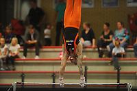 TURNEN: HEERENVEEN: 19-09-2015, Turninterland | In voorbereiding op WK turnen in Glasgow, herenturnen in Heerenveen, interland Nederland -Italië- België, Winnaar Team Nederland, Bart Deurloo, ©foto Martin de Jong