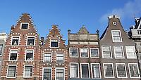 Nederland Haarlem 2016. Huizenin het centrum van Haarlem. Foto Berlinda van Dam / Hollandse Hoogte