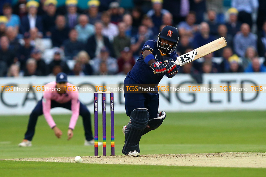 Ashar Zaidi in batting action for Essex during Essex Eagles vs Middlesex, NatWest T20 Blast Cricket at The Cloudfm County Ground on 11th August 2017