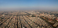 Aerial photographs of Mexico City. LAR/Fernando Romero