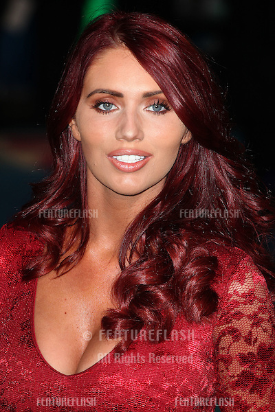 Amy Childs arriving for the Horrible Bosses 2 Premiere, Odeon West End, London. 12/11/2014 Picture by: Alexandra Glen / Featureflash