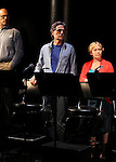 Bruce Kronenberg, Chris Sarandon & Amelia Campbell during the Curtain Call for the 10th Anniversary Production of 'The Exonerated' at the Culture Project in New York City on 9/19/2012.