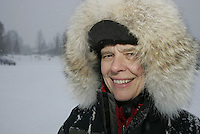 Teacher  Jr. Iditarod Willow Lake  start / finish   Terrie Hanke.
