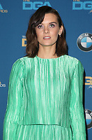 03 February 2018 - Beverly Hills, California - Frankie Shaw. 70th Annual Directors Guild Of America Awards held at the Beverly Hilton. <br /> CAP/ADM<br /> &copy;ADM/Capital Pictures