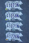 plaques d'immatriculation du Nunavut