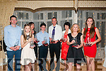 Kerry Athletics Awards Night: Pictured at the Kerry Athletics Awards night at the Listowel Arms Hotel on Saturday night last were Tim O'Connor, Rhona Randles, Mairead McSweeney, Francis Cronin, Robert Purcell, Patricia Crowe, Marie Mccarthy & Laura Hallissey.