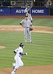 Masahiro Tanaka (Yankees), Robinson Cano (Mariners), JUNE 11, 2014 - MLB : Pitcher Masahiro Tanaka of the New York Yankees reacts after giving up a home run to Seattle Mariners' Robinson Cano in the 9th inning during the Major League Baseball game against the Seattle Mariners at Safeco Field in Seattle, Washington, United States. (Photo by AFLO)