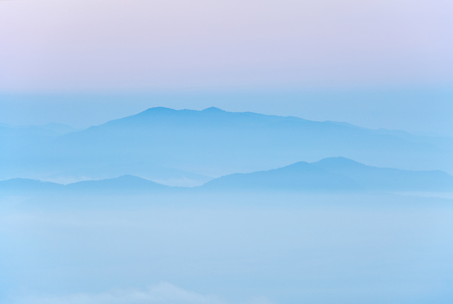 Pastel morning, Roan Highlands