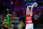 29/10/17 Fast5 2017<br /> Fast 5 Netball World Series<br /> Hisense Arena Melbourne<br /> Grand Final Jamaica v England<br /> <br /> Rachel Dunn<br /> <br /> <br /> Photo: Grant Treeby