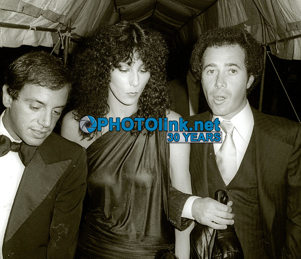 SteveRubell Cher David Geffen at #Studio54 1978<br /> Photo By Adam Scull/PHOTOlink.net