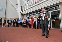 Pictured: Kevin Johns. Saturday 22 September 2014<br />
