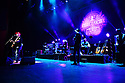 MIAMI BEACH, FL - DECEMBER 12: Musician Aaron Lewis , drummer Will Hunt, lead guitarist, Mike Mushok and bassist and backing vocalist Johnny April performs on stage during 'State I'm In Tour' at The Fillmore Miami Beach on December 12, 2019 in Miami Beach, Florida. ( Photo by Johnny Louis / jlnphotography.com )