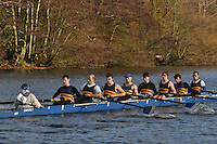018 .CAM-Poseidon .IM2.8+ .Cambridge City RC.Wallingford Head of the River. Sunday 27 November 2011. 4250 metres upstream on the Thames from Moulsford railway bridge to Oxford Universitiy's Fleming Boathouse in Wallingford. Event run by Wallingford Rowing Club..
