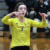 Wixom St. Catherine's defeats Detroit Edison 3-0 in regional championship volleyball action at Bishop Foley High School Thursday, Nov. 9, 2017. Photos: Larry McKee, L McKee Photography. PLEASE NOTE: ALL PHOTOS ARE CUSTOM CROPPED. BEFORE PURCHASING AN IMAGE, PLEASE CHOOSE PROPER PRINT FORMAT TO BEST FIT IMAGE DIMENSIONS. L McKee Photography, Clarkston, Michigan. L McKee Photography, Specializing in Action Sports, Senior Portrait and Multi-Media Photography. Other L McKee Photography services include business profile, commercial, event, editorial, newspaper and magazine photography. Oakland Press Photographer. North Oakland Sports Chief Photographer. L McKee Photography, serving Oakland County, Genesee County, Livingston County and Wayne County, Michigan. L McKee Photography, specializing in high school varsity action sports and senior portrait photography.