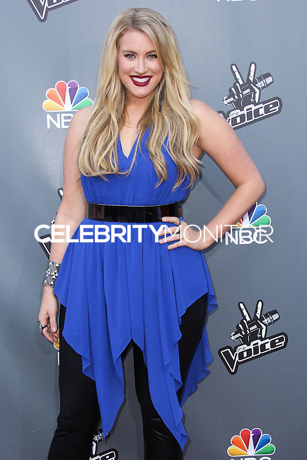 "UNIVERSAL CITY, CA, USA - APRIL 15: Dani Moz at NBC's ""The Voice"" Season 6 Top 12 Red Carpet Event held at Universal CityWalk on April 15, 2014 in Universal City, California, United States. (Photo by Xavier Collin/Celebrity Monitor)"