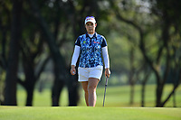 PATTAYA, THAILAND - FEBRUARY 22: Moriya Jutanugarn of Thailand on the 2nd green during the second round of the Honda LPGA Thailand 2019 at Siam Country Club Pattaya (Old Course), Pattaya, Thailand on February 22, 2019.<br /> .<br /> .<br /> .<br /> (Photo by: Naratip Golf Srisupab/SEALs Sports Images)<br /> .<br /> Any image use must include a mandatory credit line adjacent to the content which should read: Naratip Golf Srisupab/SEALs Sports Images