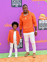 Andrew Hawkins &amp; Guest at Nickelodeon's Kids' Choice Sports 2017 at UCLA's Pauley Pavilion. Los Angeles, USA 13 July  2017<br /> Picture: Paul Smith/Featureflash/SilverHub 0208 004 5359 sales@silverhubmedia.com
