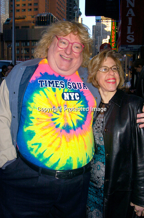 Bruce Vilanch and Jackie from Hairspray ..at the 20th Annual Artios Awards for Outstanding Achievements in Casting on October 12, 2004 at ..Caroline's on Broadway. ..Photo by Robin Platzer, Twin Images