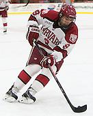 Luke Esposito (Harvard - 9) - The Harvard University Crimson tied the visiting Dartmouth College Big Green 3-3 in both team's first game of the season on Saturday, November 1, 2014, at Bright-Landry Hockey Center in Cambridge, Massachusetts.