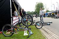 ASSEN - Wielersport, NK BMX, Stadsbroek,  02-07-2017,  rennerskwartier