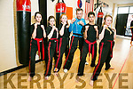 Black Belt Martial Arts Academy Pembroke Street, representing  Team Ireland  will be going to the World Martial Arts Organisation.  WMAO held in Spain on 3/10/2016.. l-r  Natasha Tobin, Ava kelly, Allie Guilfoyle Alan Guilfoyle, Sean Sookarry and Caoimhe Tobin.