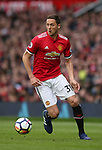 Nemanja Matic of Manchester United during the premier league match at the Old Trafford Stadium, Manchester. Picture date 29th April 2018. Picture credit should read: Simon Bellis/Sportimage