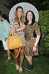 Stacey Gluck, Leslie Gluck==<br /> LAXART 5th Annual Garden Party Presented by Tory Burch==<br /> Private Residence, Beverly Hills, CA==<br /> August 3, 2014==<br /> &copy;LAXART==<br /> Photo: DAVID CROTTY/Laxart.com==
