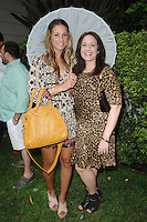 Stacey Gluck, Leslie Gluck==<br /> LAXART 5th Annual Garden Party Presented by Tory Burch==<br /> Private Residence, Beverly Hills, CA==<br /> August 3, 2014==<br /> ©LAXART==<br /> Photo: DAVID CROTTY/Laxart.com==