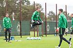 13.09.2017, Trainingsgelaende, Bremen, GER, 1.FBL, Training SV Werder Bremen<br /> <br /> im Bild<br /> Luca Plogmann (Werder Bremen #40), <br /> <br /> Foto &copy; nordphoto / Ewert