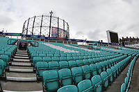A general view at the Oval during India vs New Zealand, ICC World Cup Warm-Up Match Cricket at the Kia Oval on 25th May 2019