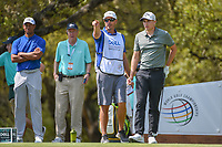 Aaron Wise (USA) looks over his tee shot on 10 during day 1 of the WGC Dell Match Play, at the Austin Country Club, Austin, Texas, USA. 3/27/2019.<br /> Picture: Golffile | Ken Murray<br /> <br /> <br /> All photo usage must carry mandatory copyright credit (© Golffile | Ken Murray)