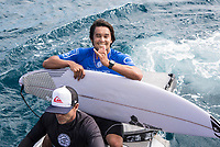 NAMOTU, Fiji (Tuesday, June 13, 2017) Connor O'Leary (AUS) - Competition has been called on today at Stop No. 5 on the 2017 World Surf League (WSL) Championship Tour (CT), the Outerknown Fiji Pro. The remaining heats of Round 3 will get underway at 12 p.m. at Cloudbreak in four-to-five foot surf. <br /> <br /> &quot;The swell is here and it's 4 - 5 foot and building,&quot; said WSL Deputy Commissioner, Renato Hickel. &quot;Seven days after we last ran we're finally going to recommence competition today. We're going to start with Round 3 at 12 noon.&quot;<br /> <br /> Location:      Tavarua/Namotu, Fiji<br /> Event window:   June 4 - 16, 2017<br /> Today's call:<br />  Round 3 called ON for 12 PM start <br /> Conditions:         4 - 5 foot (1.2 - 1.5 metre)<br /> <br /> Photo: joliphotos.com