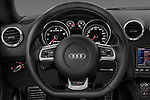 Steering wheel view of a 2010 - 2014 Audi TT RS 3 Door Coupe 4WD.