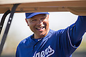 Dave Roberts (Dodgers),<br /> FEBRUARY 27, 2016 - MLB :<br /> Los Angeles Dodgers manager Dave Roberts during the team's spring training baseball camp in Glendale, Arizona, United States. (Photo by Thomas Anderson/AFLO) (JAPANESE NEWSPAPER OUT)