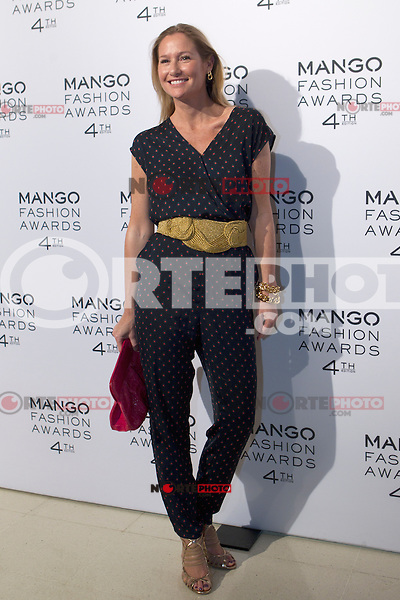 Fiona Ferrer attends the Mango Fashion Awards,  Barcelona Spain, May 30, 2012.