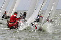 20th SPA Regatta - Medemblik.26-30 May 2004..Copyright free image for editorial use. Please credit Peter Bentley..Hein Dijksterhuis - NED