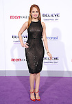 LOS ANGELES, CA - December 18: Debby Ryan arrives at Justin Bieber`s Believe World Premiere held at The Premiere House at Regal Cinemas L.A. Live in Los Angeles, California on December 18,2013                                                                               © 2013 Hollywood Press Agency