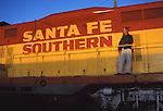 Santa Fe Southern engine