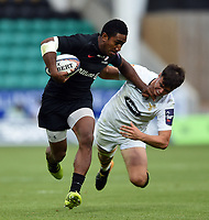 Miteli Vulikijapani of Saracens in action. Premiership Rugby 7s (Day 2) on July 28, 2018 at Franklin's Gardens in Northampton, England. Photo by: Patrick Khachfe / Onside Images