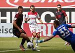 Florian Niederlechner (FCA), Matthias Zimmermann (F95), Torwart Florian Kastenmeier (F95), Ruben Vargas (FCA)<br /><br />Fussball 1. Bundesliga, 33.Spieltag, Fortuna Duesseldorf (D) -  FC Augsburg (A), am 20.06.2020 in Duesseldorf/ Deutschland. <br /><br />Foto: AnkeWaelischmiller/Sven Simon/ Pool/ via Meuter/Nordphoto<br /><br /># Editorial use only #<br /># DFL regulations prohibit any use of photographs as image sequences and/or quasi-video #<br /># National and international news- agencies out #