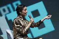 SAO PAULO, SP - 06.12.2018 - CCXP 2018 - O atriz Sophie Charlotte durante a Comic Con 2018 na S&atilde;o Paulo Expo, na zona sul de S&atilde;o Paulo na tarde desta quinta-feira (06).<br /> <br /> (Foto: Fabricio Bomjardim / Brazil Photo Press )