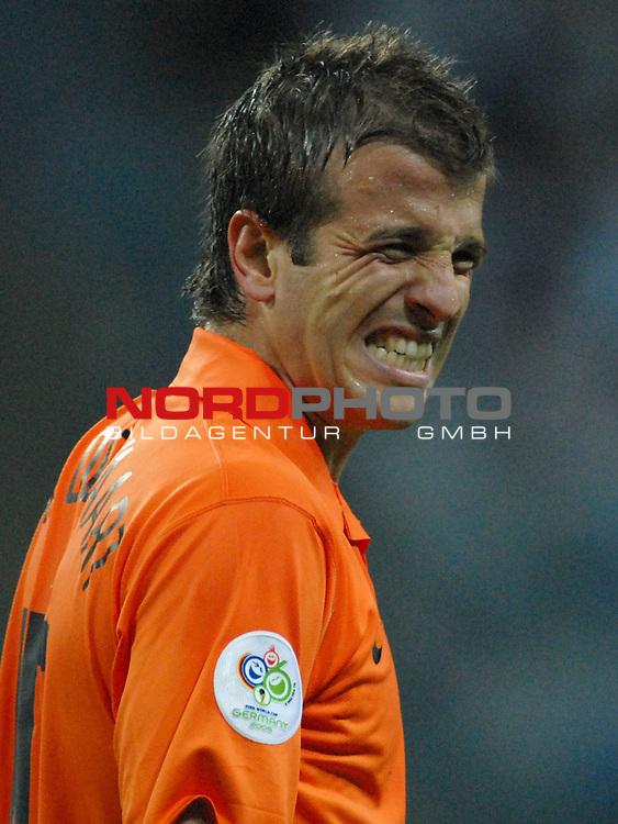 FIFA WM 2006 -  Gruppe C Vorrunde ( Group C )<br /> Play     #37 (21-Jun) - Niederland ( Holland ) - Argentinien<br /> <br /> Rafael van der Vaart (NED)<br /> <br /> Foto &copy; nordphoto
