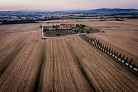 Borgo Beccanella, Asciano, Toscana, Italien. Foto: Jens Panduro