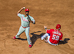 7 September 2014: Philadelphia Phillies shortstop Jimmy Rollins in action against the Washington Nationals at Nationals Park in Washington, DC. The Phillies fell to the Nationals 3-2 in their final meeting of the season. Mandatory Credit: Ed Wolfstein Photo *** RAW (NEF) Image File Available ***
