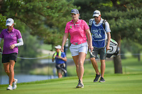 Jacqui Concolino (USA) approaches the tee on 5 during round 4 of the 2018 KPMG Women's PGA Championship, Kemper Lakes Golf Club, at Kildeer, Illinois, USA. 7/1/2018.<br /> Picture: Golffile | Ken Murray<br /> <br /> All photo usage must carry mandatory copyright credit (&copy; Golffile | Ken Murray)
